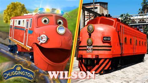 Chuggington Trains Cartoon Characters In Real Life 2018
