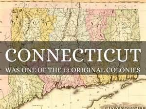 Original 13 Colonies Connecticut