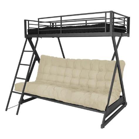 lit mezzanine avec canapé lit mezzanine avec canapé convertible fixé canapé