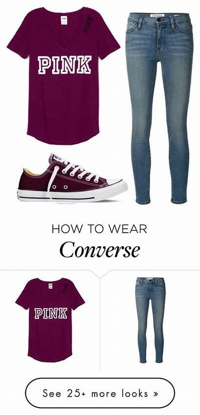 Outfits Polyvore Converse Trajes Casual Ones Bouquet