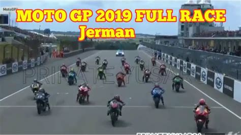 moto gp  full race jerman youtube