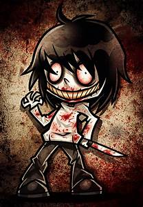 How to Draw Chibi Jeff the Killer, Step by Step, Chibis ...