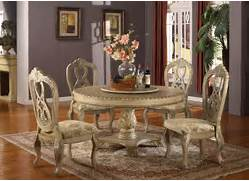 Table And Classic Chairs As Antique Dining Room Furniture On Dining Table Dining Table Lacquer Dining Room Round Dining Table Pedestal 21252 At Ramsey Furniture Custom Made Dining Room Furniture