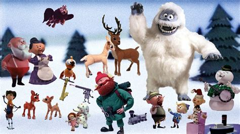 rudolph  red nosed reindeer character click quiz