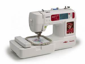 simplicity brother sb7050e 4x4quot embroidery machine usb With brother lettering machine