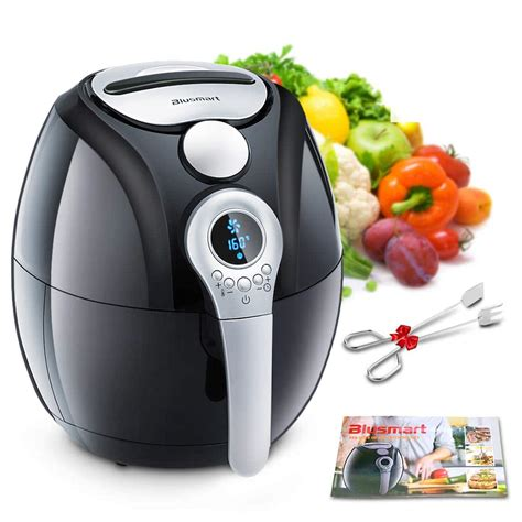 fryer air fryers amazon rated electric under 2l customer blusmart 4qt oil today 1400w led display deals cooking healthy