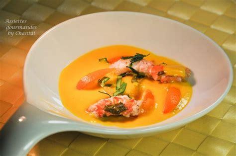 curcuma en cuisine bouillon de carottes citronnelle et langoustines recette