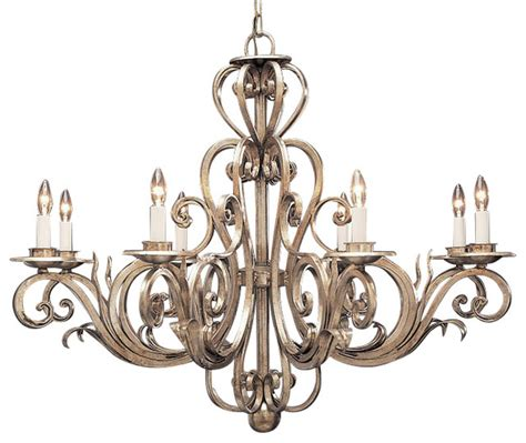 wrought iron chandelier traditional chandeliers by