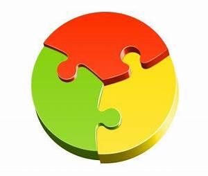 Round Jigsaw Puzzle Patterns