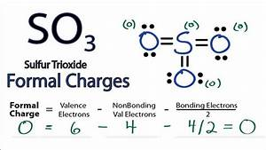 Calculating So3 Formal Charges  Calculating Formal Charges