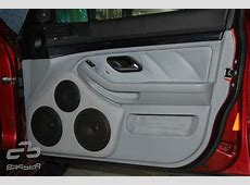 Basser BMW 5 E39 without subwoofer