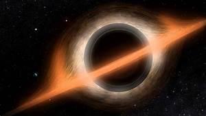 Interstellar Style Black Hole Visualization (4K Ultra High ...  Black