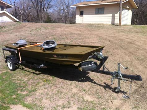 Jon Boat Trailer Rebuild by Jon Boat With Trailer Nex Tech Classifieds