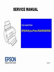 Service Manual Epson Stylus Photo R240 245 250  1  Pdf