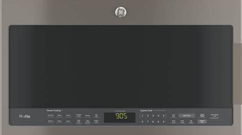 pvmejes ge profile  cu ft   range sensor microwave slate