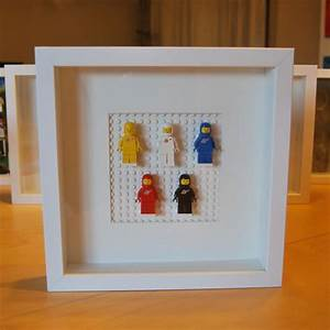 33 best images about lego minifigure displays on With lego wall art