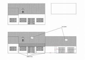 Plan Facade Maison : plans permis de construire et erp ~ Melissatoandfro.com Idées de Décoration