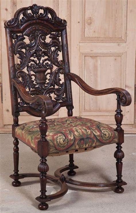 chaise louis xiv antique louis xiv tapestry armchair antique