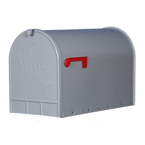 gibraltar mailboxes jumbo galvanized steel post mount