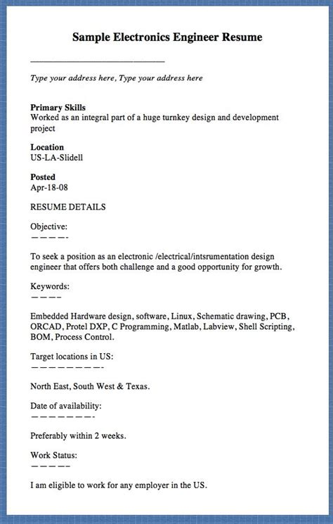 Primary Skills Resume by 17 Best Images About Free Resume Sle On
