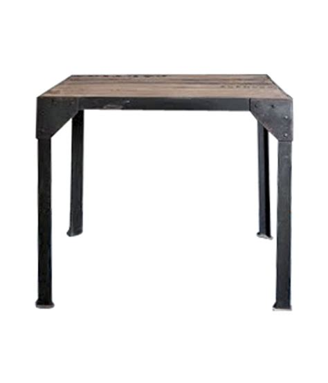 iron man table l iron table with wooden top buy iron table with wooden