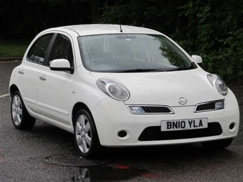 nissan micra 2010 used nissan micra 2010 manual petrol white for sale uk