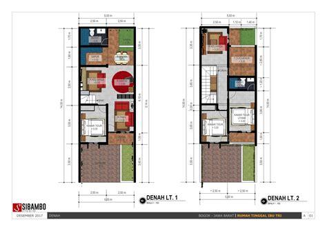 denah rumah minimalis ukuran  top rumah