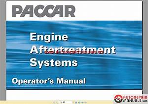 Paccar Engine Manuals Paccar Engine Aftertreatment Systems
