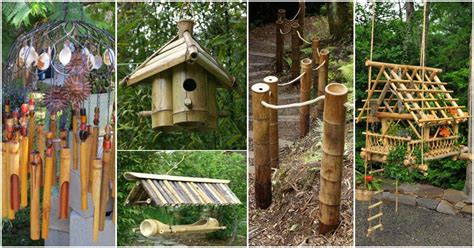 top  easy  attractive garden diy projects  bamboo