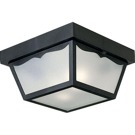 Progress Lighting P5745 31 Outdoor Flush Mount Ceiling Fixture