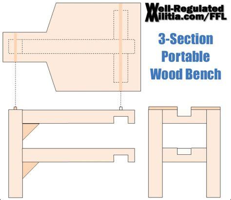 nra range manual shooting bench plans info