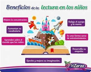 #Infografía #leer #niños #beneficios #Lectura #LaZarza Consejos La Zarza Pinterest