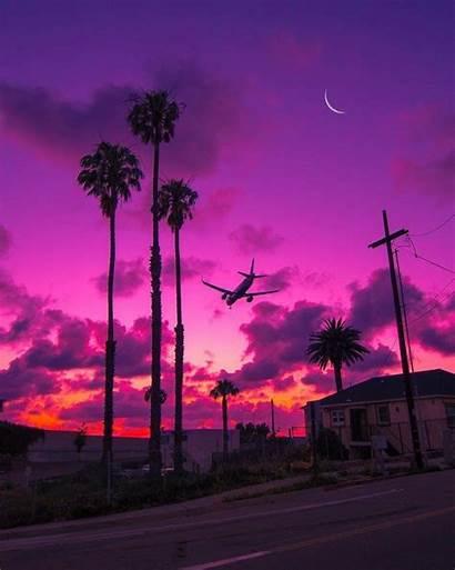 Aesthetic Pastel Landscape Sky Amazing Sunset Nature