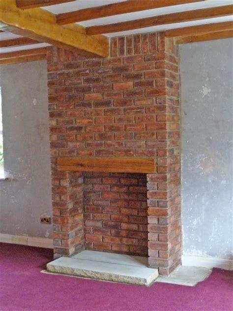 build chimney stack  living room  concrete floor