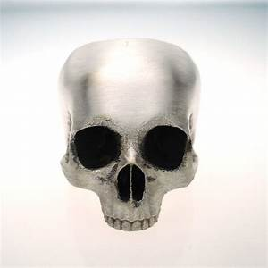 Half Skull Ring In Sterling Silver