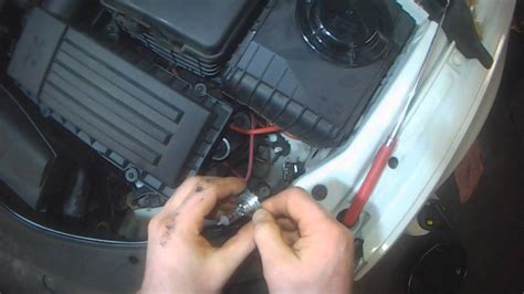 vw b6 passat cc headlight bulb replacement