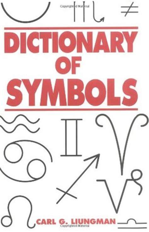 dictionary  symbols  carl  luingman
