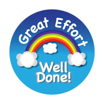 Well Done Images Great Effort Well Done Stickers