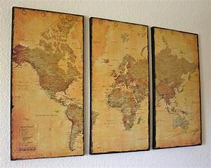 world map wall art dabndash With map wall art