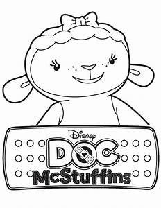 Lambie the Lamb in Doc McStuffins Coloring Page - NetArt ...