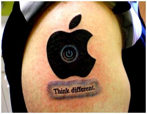 popular apple tattoo designs