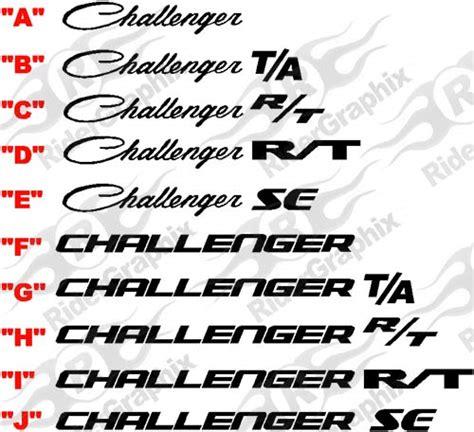 logo dodge challenger dodge challenger logo mopar model logo pinterest