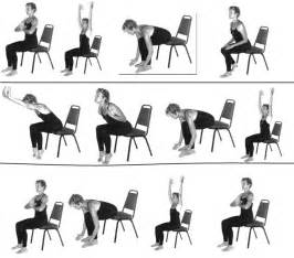 8 best images of printable chair yoga routines senior