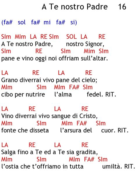testo padre nostro padre nostro sei nei cieli canzone querciacb