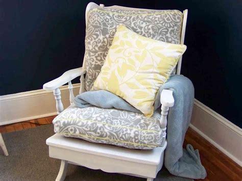 rocking chair cushion sets  nursery decor ideas