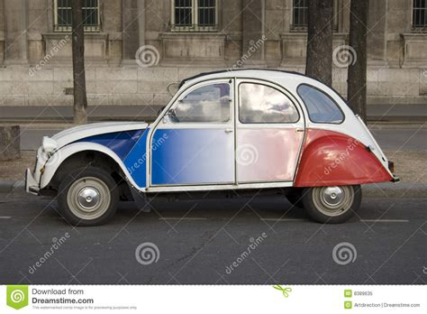 citroen cv paris stock image image  iconic quirky