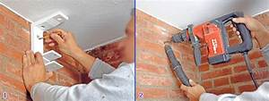 beau trou dans mur porteur 12 fixer un store banne dans With trou dans mur porteur