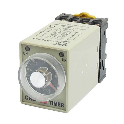 Electric Motor Relay by Dc 12v 0 30 Seconds 30s Electric Delay Timer Timing Relay