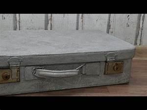 Beton Effekt Paste : diy koffer upcycling mit viva decor beton concrete effekt ~ Eleganceandgraceweddings.com Haus und Dekorationen
