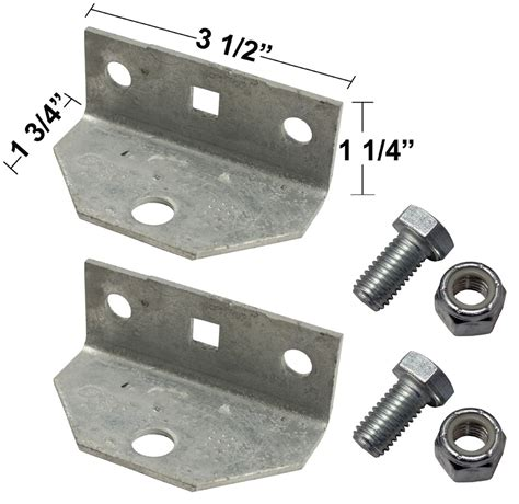Boat Trailer Parts Catalog by Replacement Swivel Brackets With Bolts And Nuts For Bunk